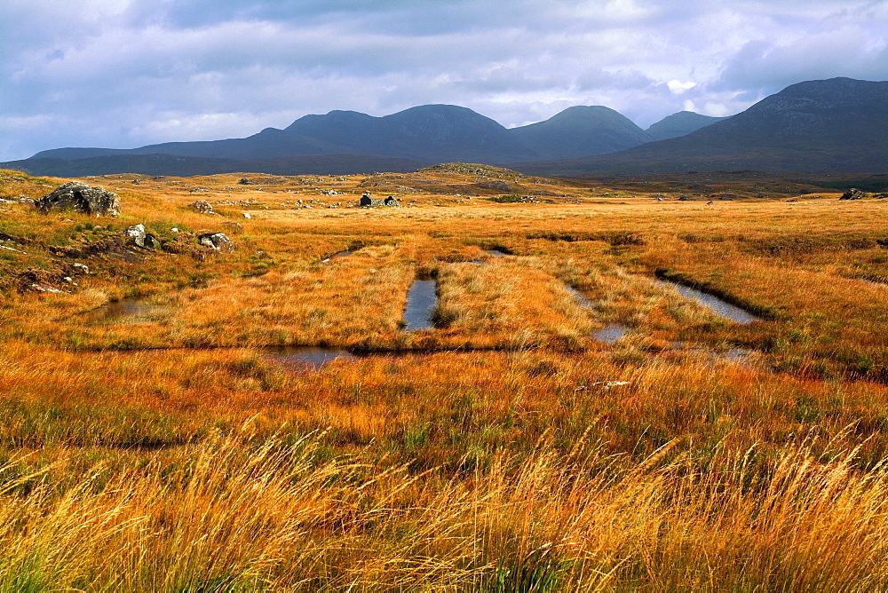 Connemara, County Galway, Ireland, Harvesting Turf