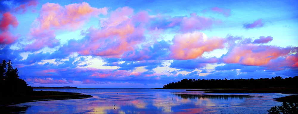 Sunset Sky, New Brunswick, Canada