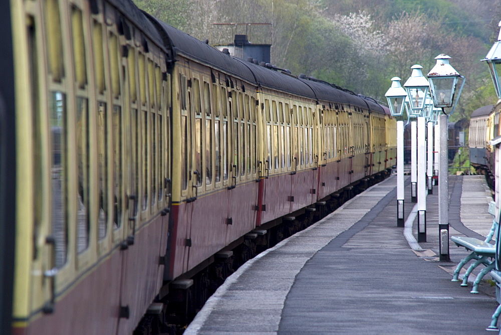 Train Station, Grosmont, North Yorkshire, England