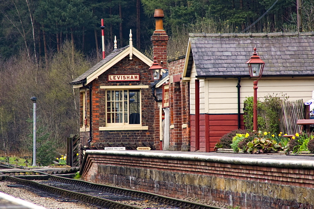 Train Station In England