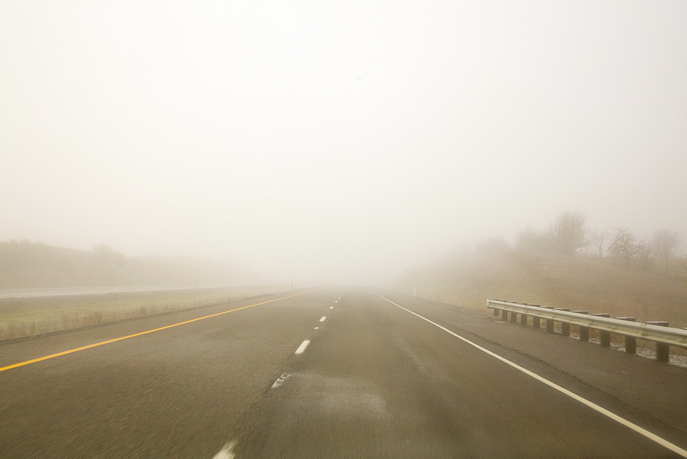 Low Visibility On Road