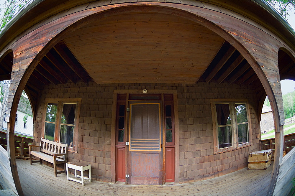 Wide Angle Doorway