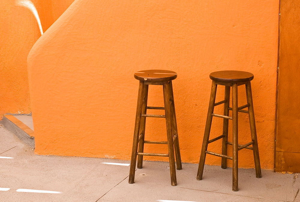 Stools, Rhodes, Greece