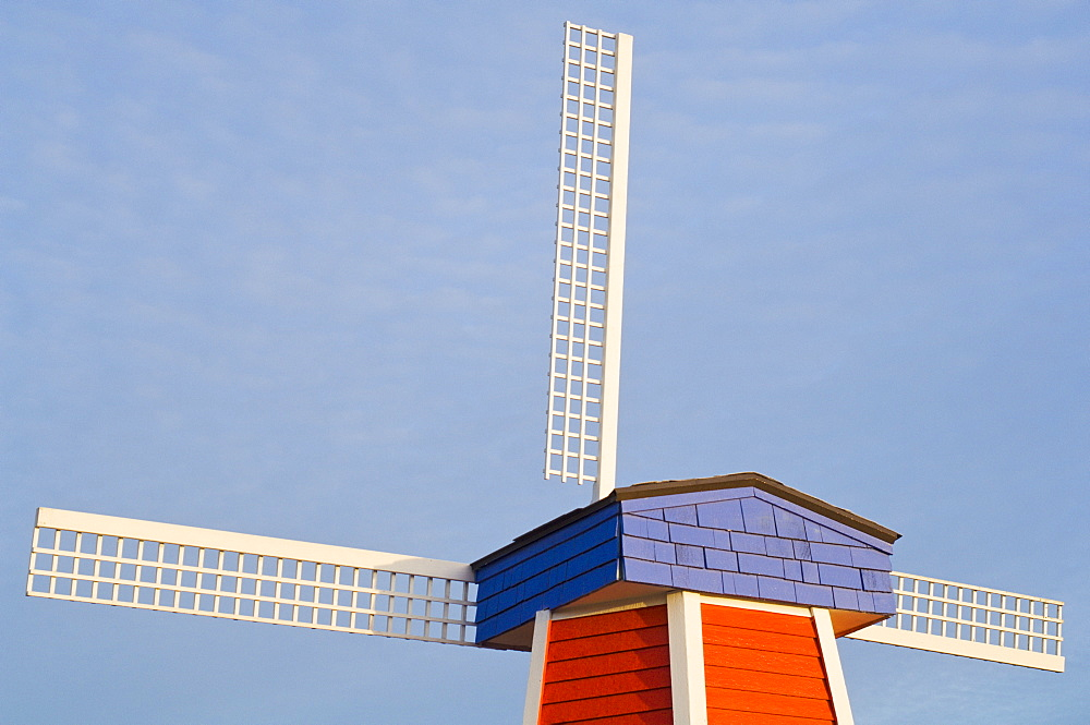 Windmill, Wooden Shoe Tulip Farm, Oregon, Usa