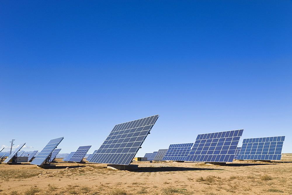 La Calahorra, Granada, Spain, Solar Panels - 1116-40650