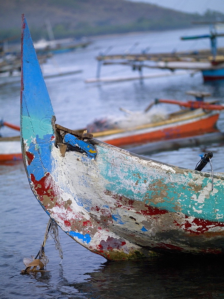 Java Sea, Bali, Indonesia, Balinese Fishing Vessels