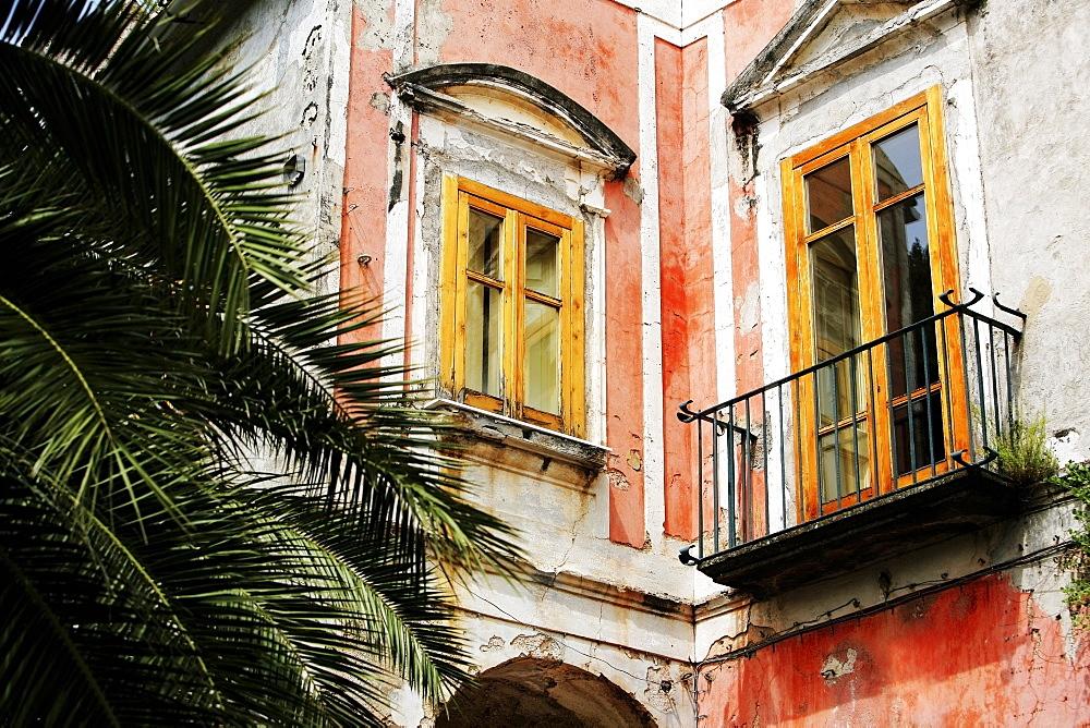 Ravello, Campania, Italy, Window And Balcony