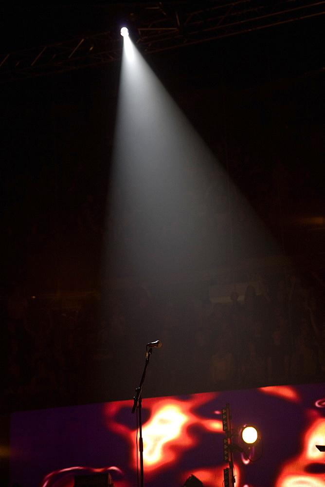 Spotlight, Spotlight Over A Stage