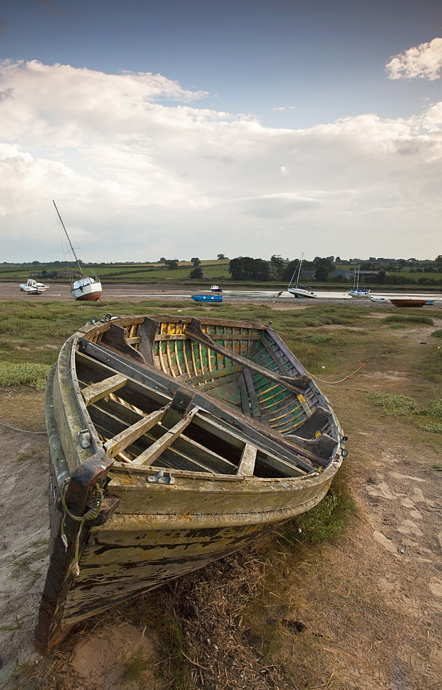 Beached Boat, Alnmouth, Northumberland, England