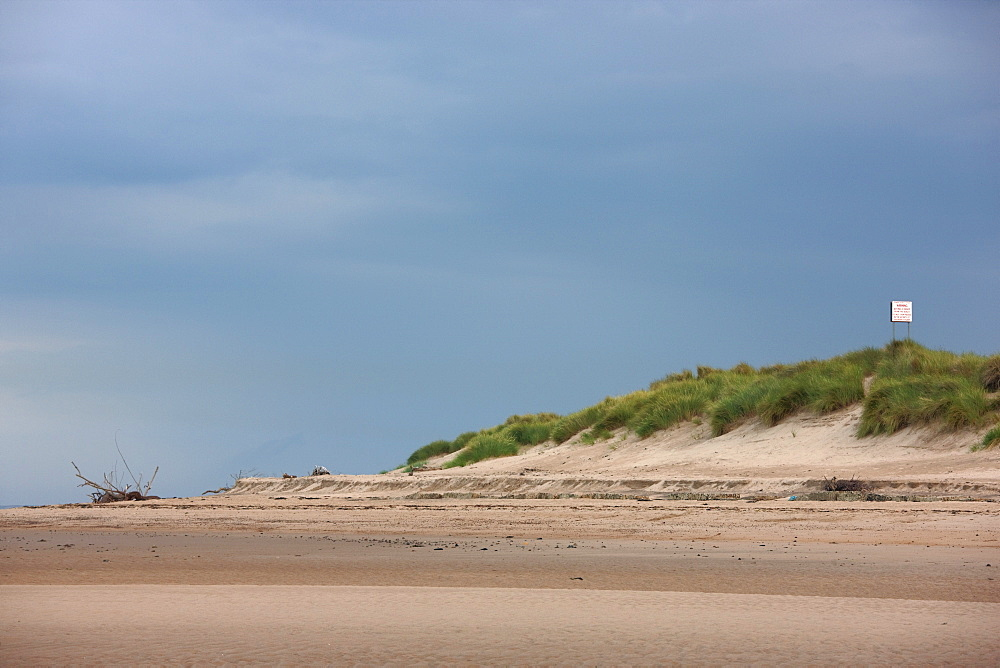 Beach, Alnmouth, Northumberland, England