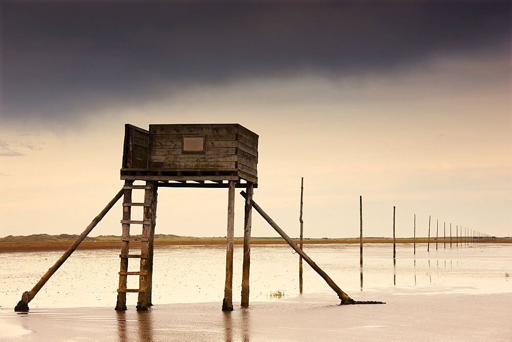 Lifeguard House In The Water