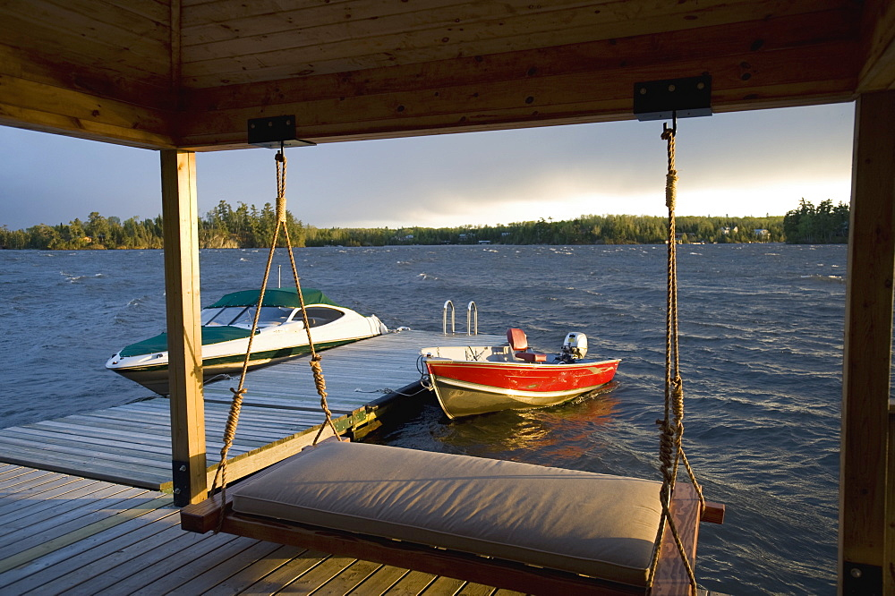 Boats Tied To A Dock