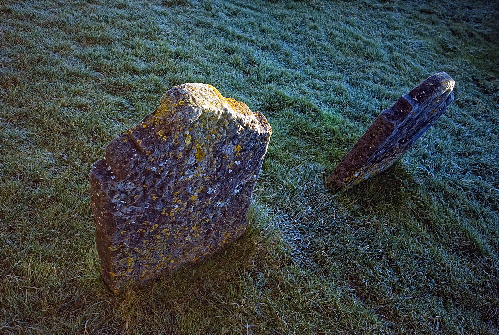 Graves At St. Canice Cathedral, Kilkenny, County Kilkenny, Ireland