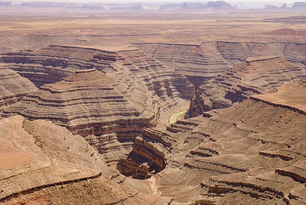 Canyons Showing The Layers Of Erosion