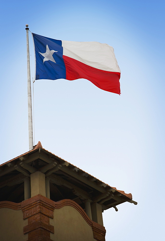 San Antonio, Texas, United States Of America, Texas Flag - 1116-41260