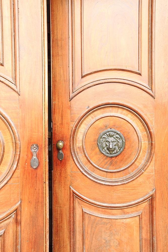 Slane, Ireland, A Door To Slane Castle - 1116-41329