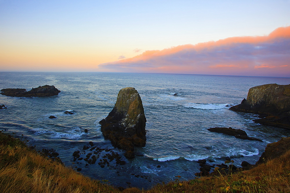 Sunrise Over Yaquina Head, Oregon, United States of America