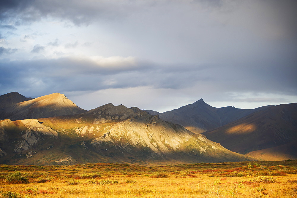 Brooks Range, Gates Of The Arctic National Park In Northwestern Alaska, Alaska, United States Of America