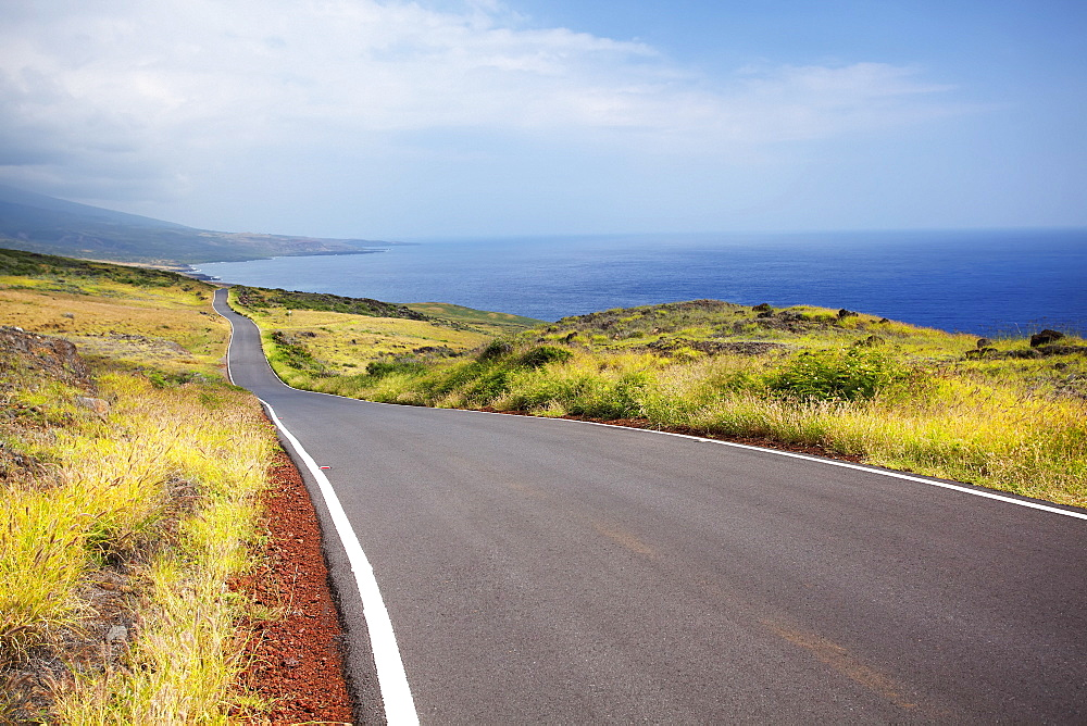 Piilani highway along kanaio coast, Maui, hawaii, united states of america