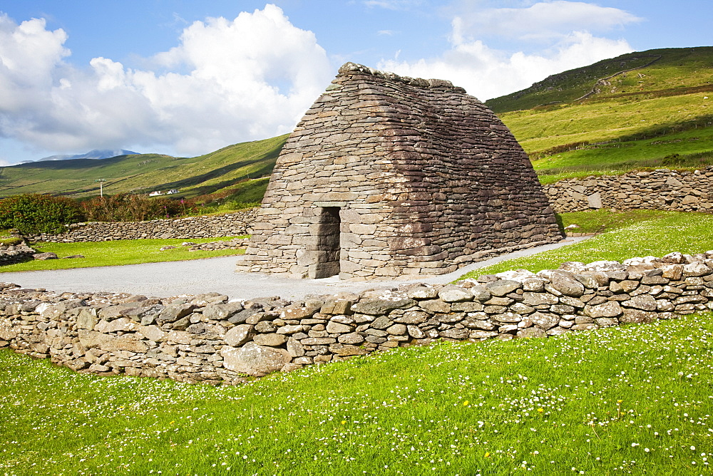The gallarus oratory on the dingle peninsula, County kerry, ireland