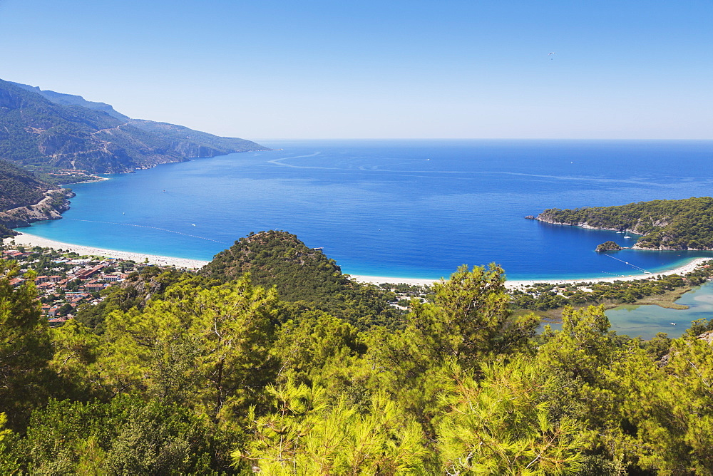 Beachside resort, Oludeniz magla province turkey
