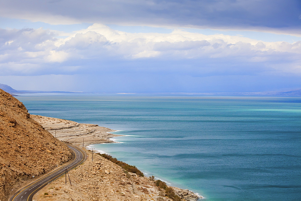 Dead sea road, Jordan valley israel
