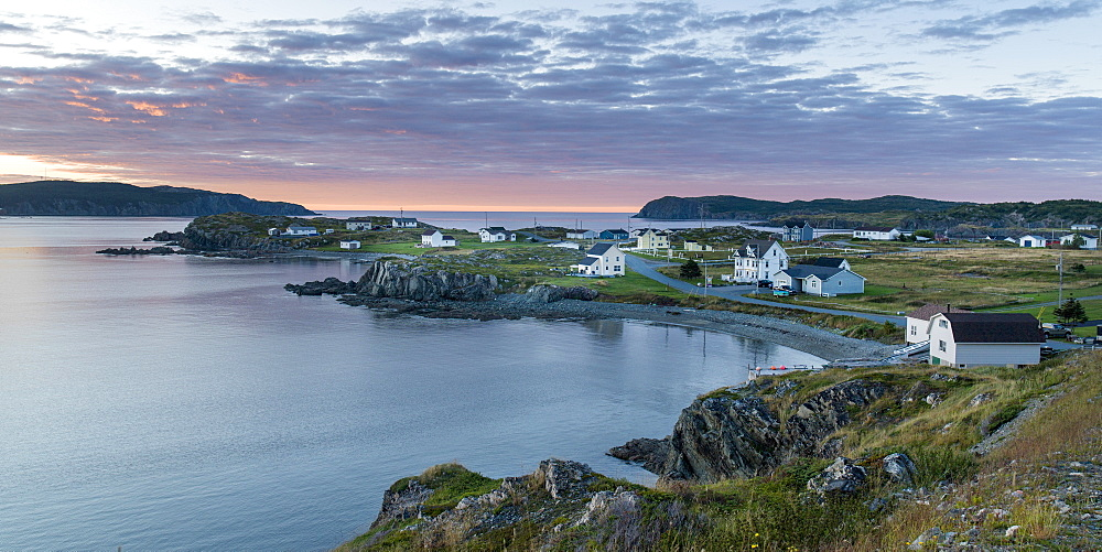 A Fishing Town Along The Coast Of Twillingate Islands, Twillingate, Newfoundland And Labrador, Canada