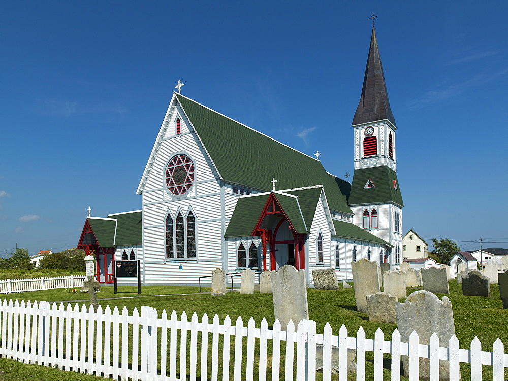 St. Paul's Anglican Church, Trinity, Newfoundland And Labrador, Canada