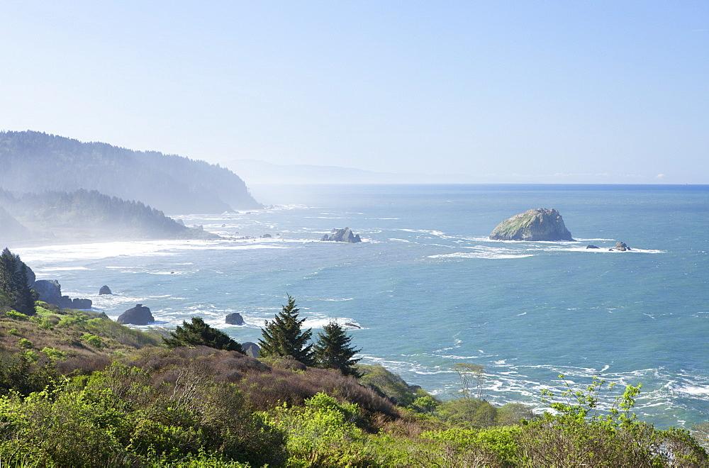 Coastline Of Oregon, Oregon, United States Of America