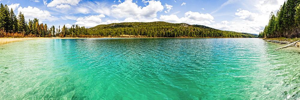 Turquoise Fishing Lake, British Columbia, Canada