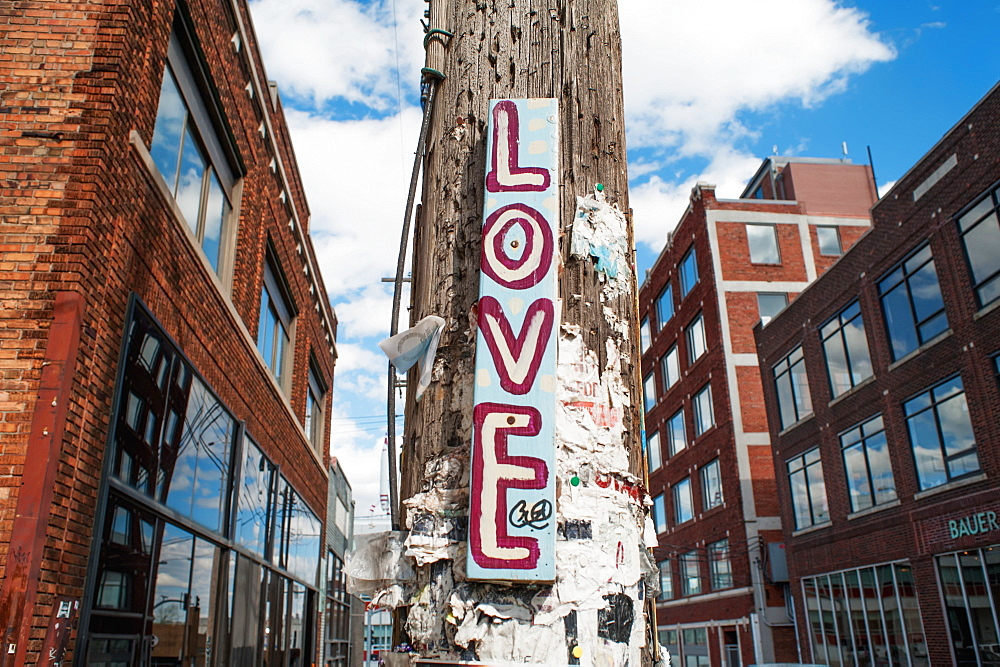 Love Sign, Kansas City, Missouri, United States Of America