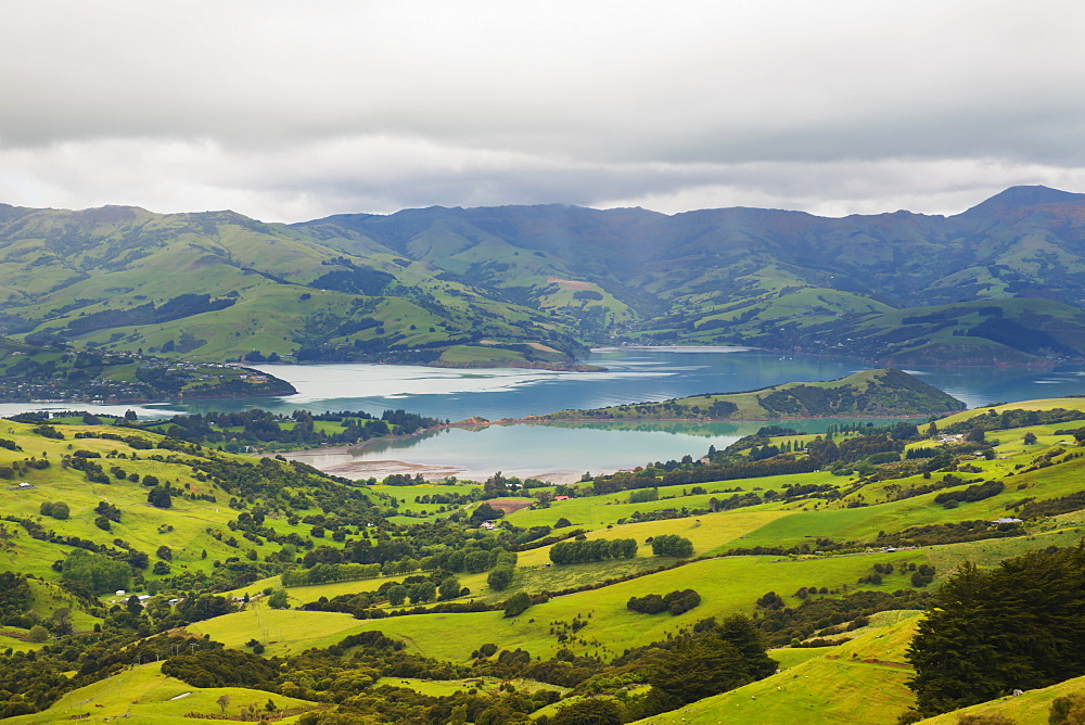 Akaroa Peninsula, Christchurch, New Zealand
