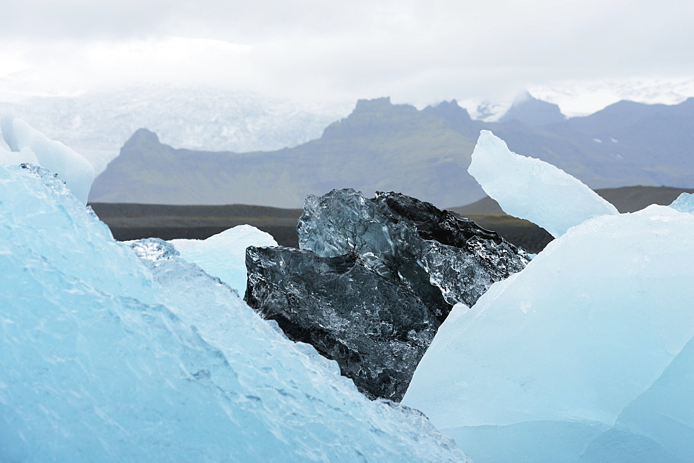 Glacial Lagoon, Jokulsarlon, Austur-Skaftrafellssysla, Iceland