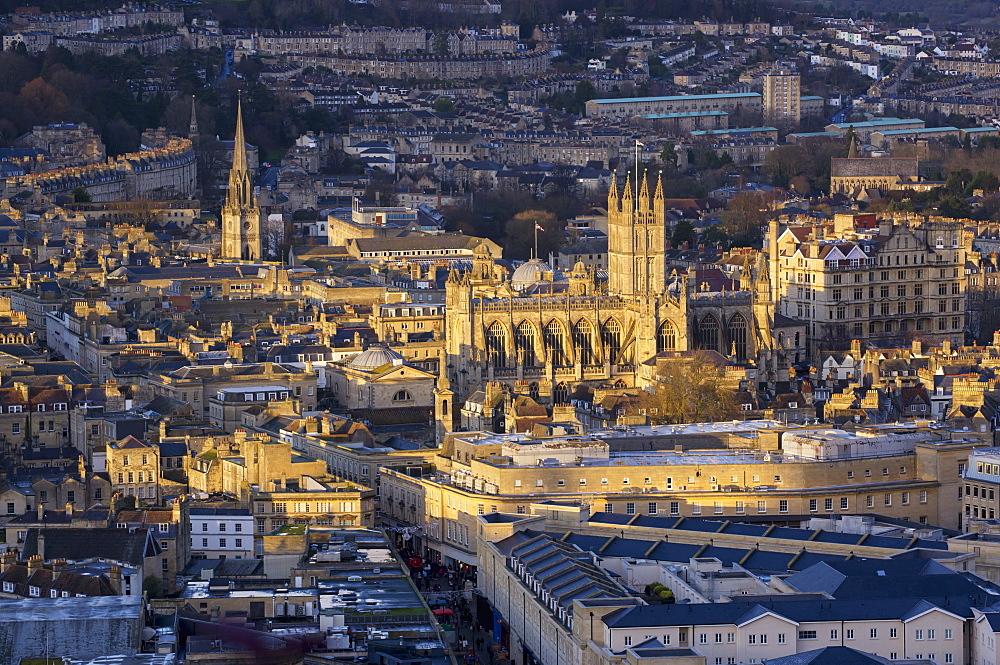 Abbey, Bath, England