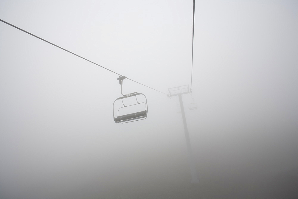 Chairlift On Mount Hood, Oregon, United States Of America