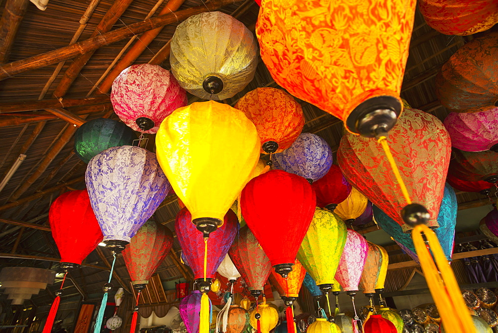 Lanterns, Famous In The Village Of Hoi An, Hoi An, Vietnam