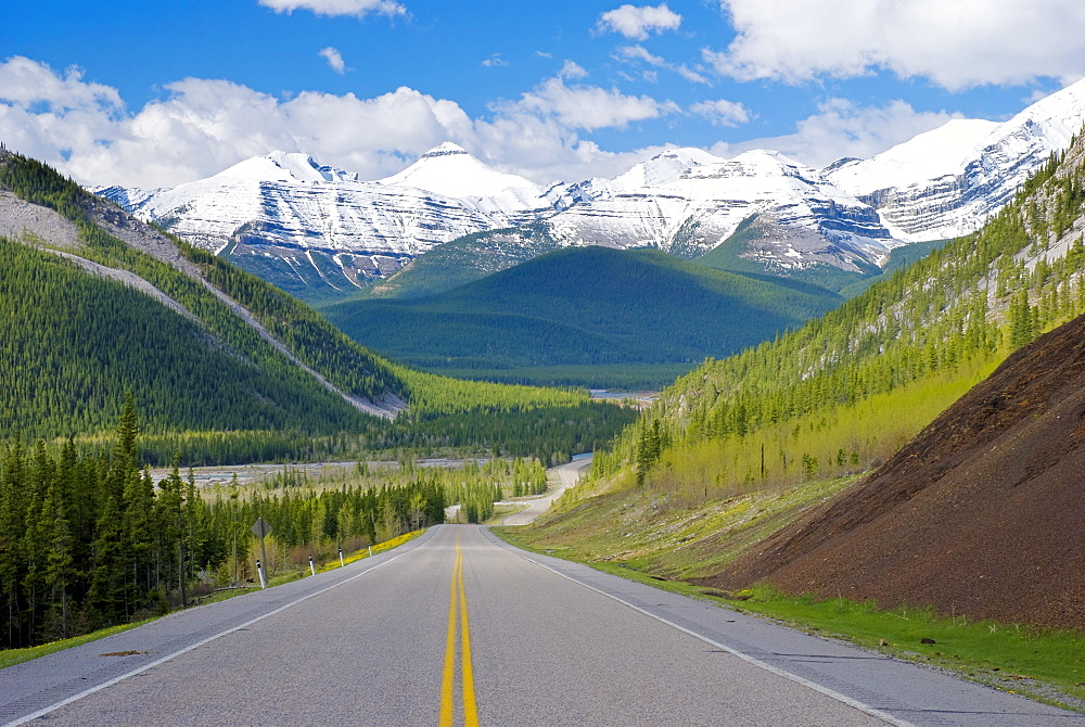Road, Kananaskis Country, Alberta