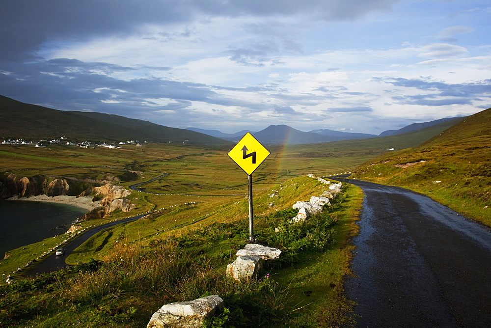 The Atlantic Drive On Achill Island, County Mayo, Ireland
