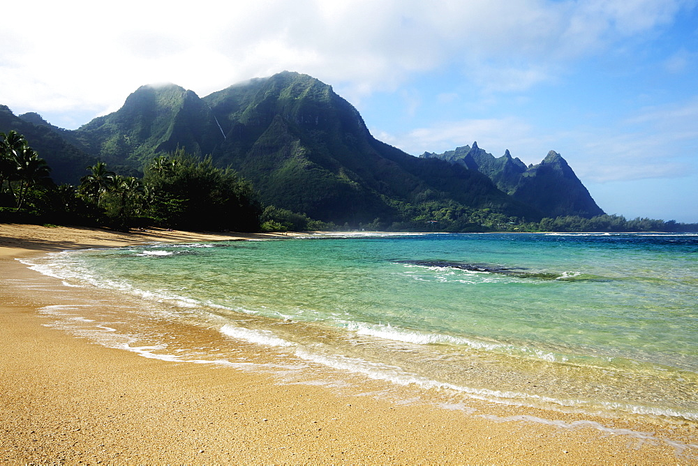 Tunnels Beach, Kauai, Hawaii, United States Of America