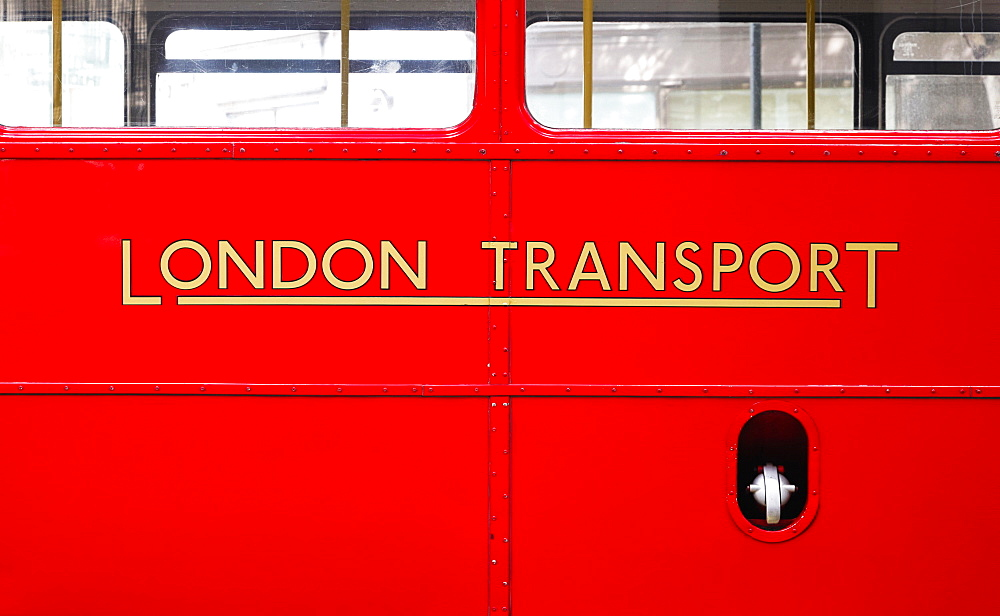 Detail Of Routemaster Bus, London, England