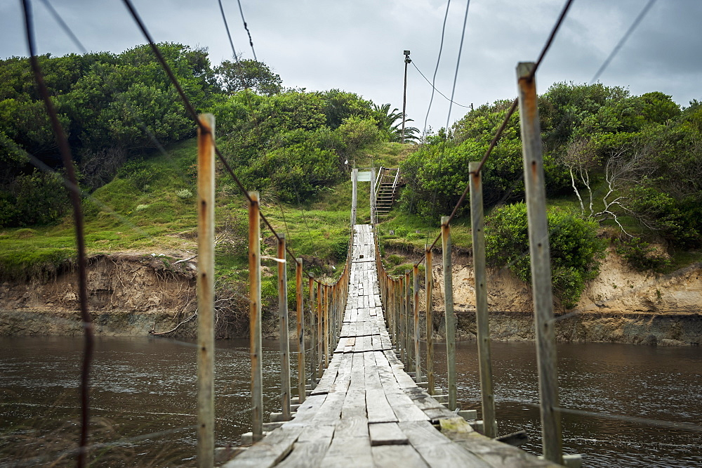 Suspension Bridge, Punta Del Diablo, Uruguay