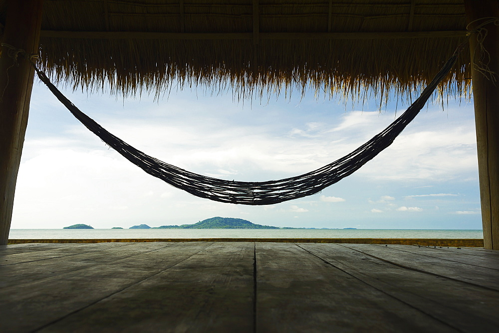 An Hammock On The Seaside, Kep, Cambodia