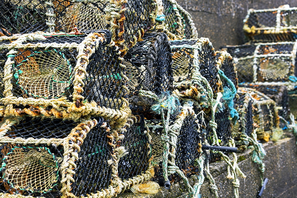 Close Up Of Lobster/Crab Traps, Clifden, County Galway, Ireland