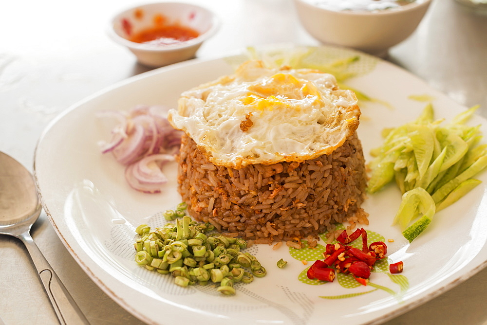 Fried Rice Khmer Style, Battambang, Cambodia