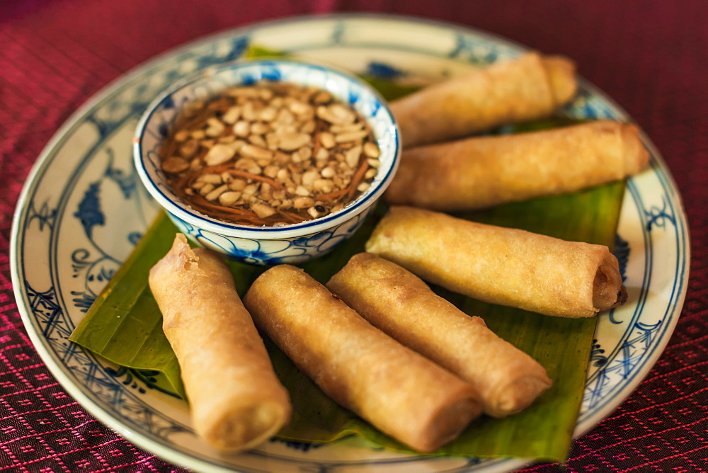 Spring Rolls, Khmer Style, Siem Reap, Cambodia
