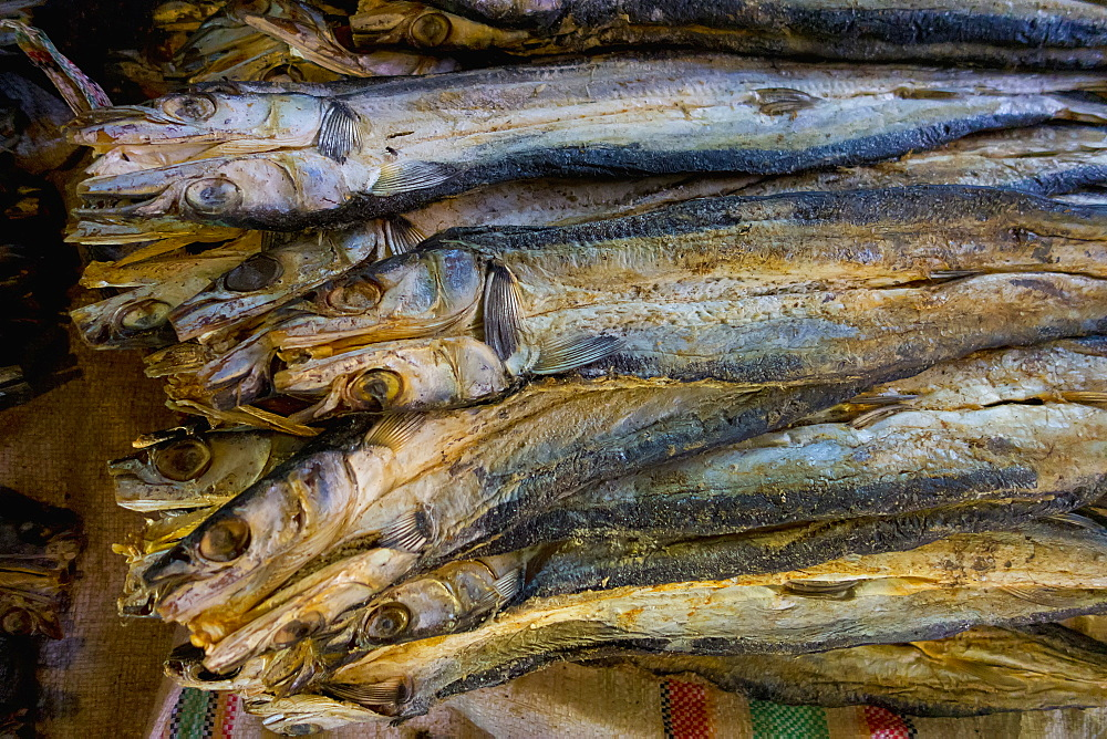 Dried Fish For Sale At The Market, Timor-Leste