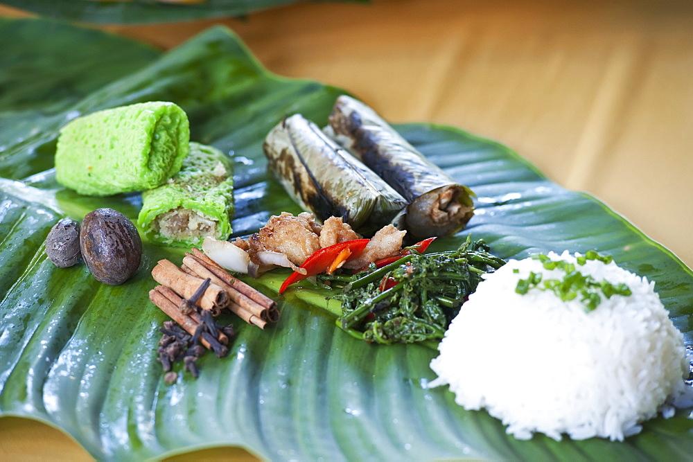 Local Food Served At Ulu Temburong National Park Resort, Brunei
