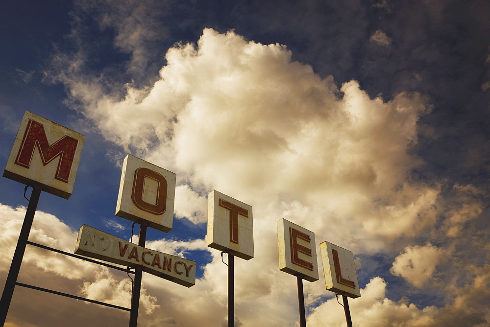 Old Motel Sign, Edmonton, Alberta, Canada