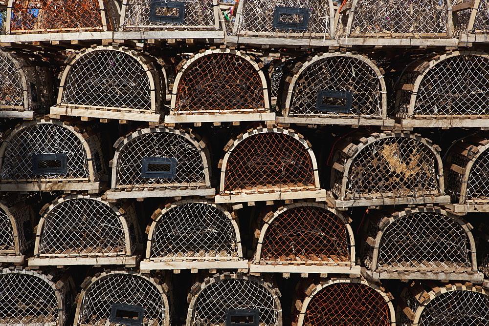 Lobster Traps, Prince Edward Island, Canada