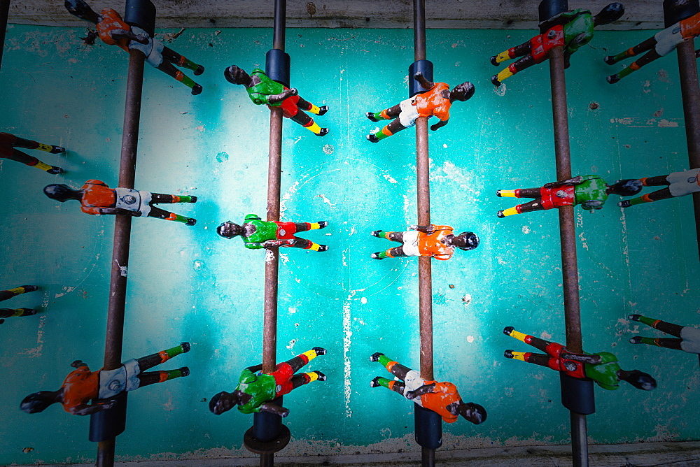Table Football Game, Tarifa, Cadiz, Andalusia, Spain